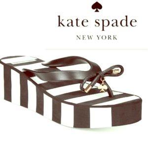 Kate Spade ♠️ Rhette Wedge Flip Flop/Sandals
